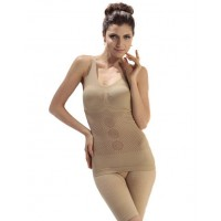 Body Slimming Suit [Color : Nude, Skin ]