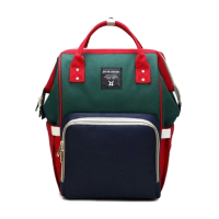 Diaper Bag Multi-Function Waterproof Travel Backpack Nappy Bags. Available 7 Color-Green,,color Green
