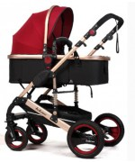 Baby Stroller Belecoo Q3 for 0 - 36 month  - Red,,