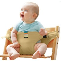 Baby Dining Belt Portable Child Seat Baby BB Chair / Security Belt Patent - Cream,,