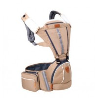 Baby Hip Seat Baby Carrier backpack baby carrier B2174 - Brown,,color Brown