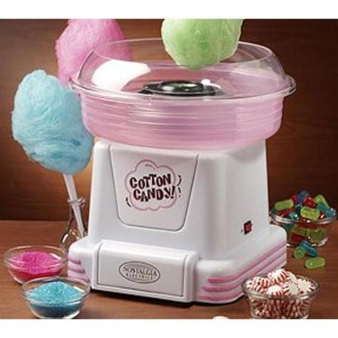 เครื่องทำสายไหม Cotton Candy Maker – Nostalgia,cotton-candy-maker-nostalgia,color ชมพู