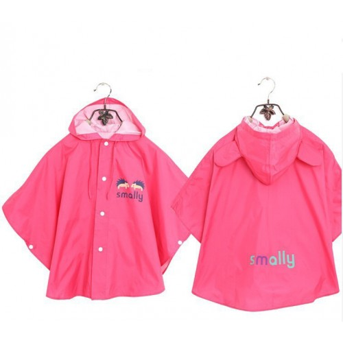 2fb041261 Korea cute children raincoat baby cartoon polyester infantry - Pink