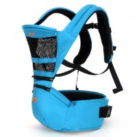 Aiebao 2in1 Baby Hip Seat and Carriers - Light blue,,color Light Blue