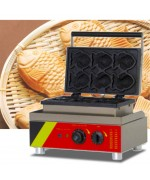 Taiyaki Fish Waffle Maker IW-538 1500W Stainless Steel,,