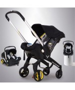 4 in 1 Car Seat Stroller Multi-Function G301 Lightweight — Black,,