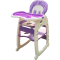 Baby High Chair & Toddler Desk 2 IN 1 HC30D - Purple,,