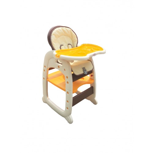 Baby High Chair Toddler Desk 2 In 1 Hc30d Brown