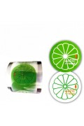 Cup Sealing Films GREEN LEMON 9 cm For 2000 Cup,,