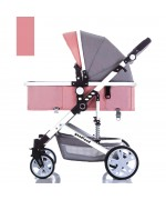 Baby Stroller Goodland Q3 for 0 - 36 month  - Pink,,