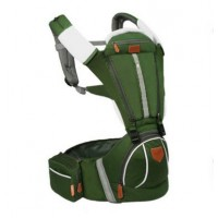 Baby Hip Seat Baby Carrier backpack baby carrier B2174 - Green,,color Green