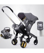 4 in 1 Car Seat Stroller Multi-Function G301 Lightweight — Grey,,