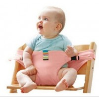 Baby Dining Belt Portable Child Seat Baby BB Chair / Security Belt Patent - Pink,,