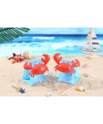 Kids Arm Float Swimming Inflatable Arm Ring – Crab,,