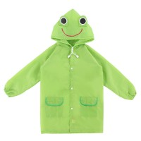 funny rain coat - green,,color Green