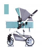 Baby Stroller Goodland Q3 for 0 - 36 month  - Sky Blue,,