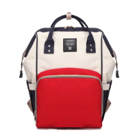 Diaper Bag Multi-Function Waterproof Travel Backpack Nappy Bags. Available 7 Color-White,,color White