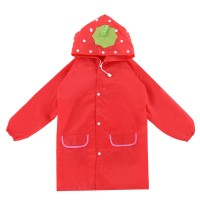 funny rain coat - red,,color Red