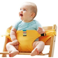 Baby Dining Belt Portable Child Seat Baby BB Chair / Security Belt Patent - Yellow,,