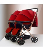 Twin stroller 21A - Red,,