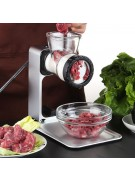 Manual Meat Grinder E902 Stainless Steel 360° Sharp Blade,,