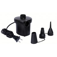 Electric Air Pump w Nozzles 220VAC Youmay,,color Black