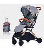 TIANRUI Baby Stroller TR18 Seat Width 36 cm Weight 7 Kg — Gray,,