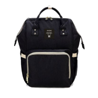 Diaper Bag Multi-Function Waterproof Travel Backpack Nappy Bags. Available 7 Color-Black,,color Black