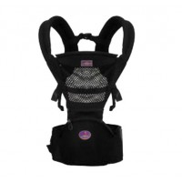 Aiebao 2in1 Baby Hip Seat and Carriers - Black,,color Black