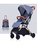 TIANRUI Baby Stroller TR18 Seat Width 36 cm Weight 7 Kg — Blue,,